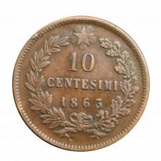 1862 REGNO D'ITALIA MONETA...