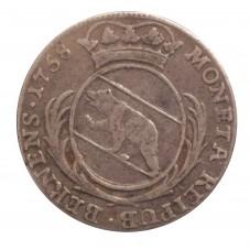 1758 SVIZZERA 20 KREUZER -...