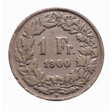 1900 SVIZZERA 1 FRANCO - B...
