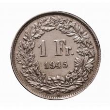 1945 SVIZZERA 1 FRANCO - B...