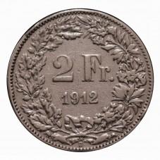 1912 SVIZZERA 2 FRANCHI - B...