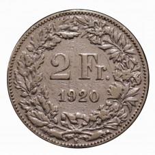 1920 SVIZZERA 2 FRANCHI - B...