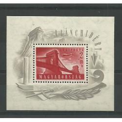 1948 UNGHERIA  MAGYAR PONTE...