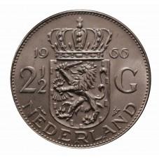 1966 OLANDA - 2,5 GULDEN -...
