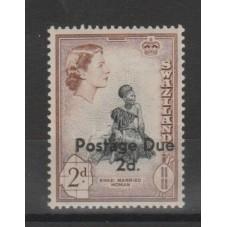 SWAZILAND 1961 ELISABETTA...