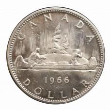1966 CANADA DOLLAR INDIANI...