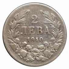 1910 BULGARIA 2 LEVA...