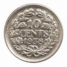 1938 OLANDA 10 CENTS...