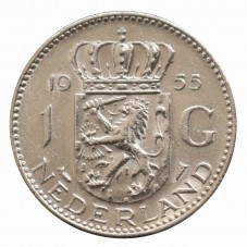 1955 OLANDA - 1 GULDEN -...