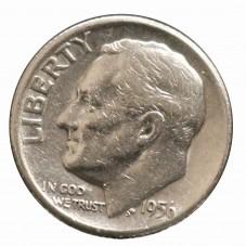 1956 USA ROOSVELT SILVER...