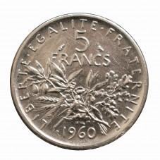 1960 FRANCIA 5 FRANCS - LA...