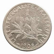 1908 FRANCIA 1 FRANC -...