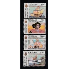 1992 TOKELAU COLOMBO...