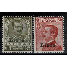 1917/18 LIBIA FLOREALE -...