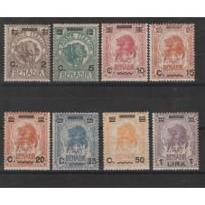 1906-07 SOMALIA  ELEFANTE E...