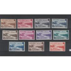 1950-51 SOMALIA AFIS P. A....