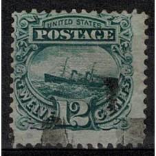 1869 STATI UNITI U.S.A. 12...