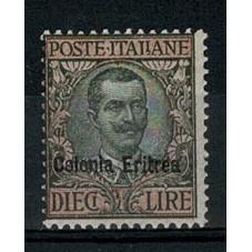 1916 ERITREA L 10 FLOREALE...