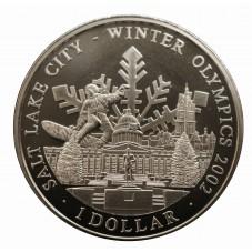 2001 COOK ISLANDS 1 DOLLARO...