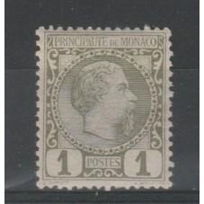 1885 MONACO EFFIGIE CARLO...