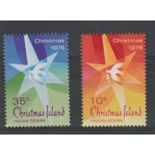 1976 CHRISTMAS ISLAND SERIE...