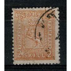 1867 NORVEGIA STEMMA LEONE...