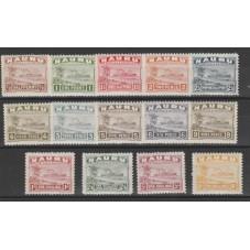 NAURU 1924 - 48 SERIE DEF...