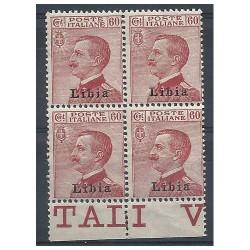 1917 - 1918 LIBIA 60 C...
