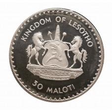 1981 LESOTHO 30 MALOTI...