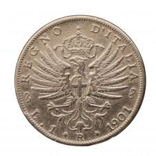 1901 REGNO D'ITALIA MONETA...